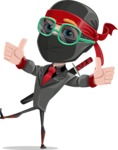 Daikoku the Businessman Ninja - Sunglasses