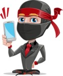 Daikoku the Businessman Ninja - Smartphone2