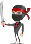 Daikoku the Businessman Ninja - Determination
