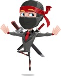 Daikoku the Businessman Ninja - Jump