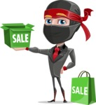 Daikoku the Businessman Ninja - Sale 2