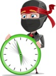 Daikoku the Businessman Ninja - Time is running out