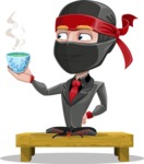 Daikoku the Businessman Ninja - Tea