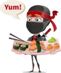 Daikoku the Businessman Ninja - Food 2