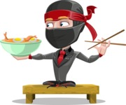 Daikoku the Businessman Ninja - Food 3