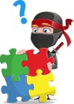 Daikoku the Businessman Ninja - Puzzle