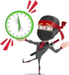 Daikoku the Businessman Ninja - Time is up