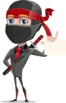 Daikoku the Businessman Ninja - Sign 1