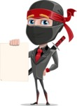 Daikoku the Businessman Ninja - Sign 2