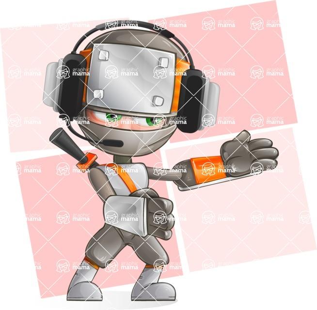 Japanese Ninja Cartoon Vector Character AKA Takeshi - Shape 11