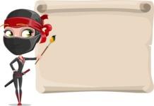 Aina the Businesswoman Ninja - Presentation 7
