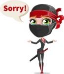 Aina the Businesswoman Ninja - Sad 2