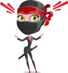 Aina the Businesswoman Ninja - Shocked