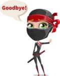 Aina the Businesswoman Ninja - Goodbye
