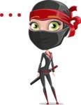 Aina the Businesswoman Ninja - Blank