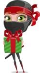 Aina the Businesswoman Ninja - Gift