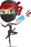 Aina the Businesswoman Ninja - Smartphone