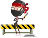 Aina the Businesswoman Ninja - Under Construction 2