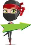 Aina the Businesswoman Ninja - Pointer 1