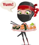 Aina the Businesswoman Ninja - Food 2