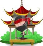 Aina the Businesswoman Ninja - Temple