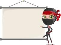 Aina the Businesswoman Ninja - Presentation 6
