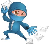 Hotaru the Determined Ninja - Mail