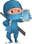 Hotaru the Determined Ninja - Smartphone 1
