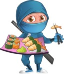 Hotaru the Determined Ninja - Sushi