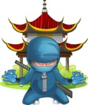 Hotaru the Determined Ninja - Temple