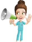 Ashley the Amiable Nurse - Loudspeaker