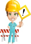 Ashley the Amiable Nurse - Construction