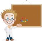 Simple Professor Cartoon Vector Character AKA Professor Smartenstein - Presentation3