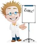 Simple Professor Cartoon Vector Character AKA Professor Smartenstein - Presentation6