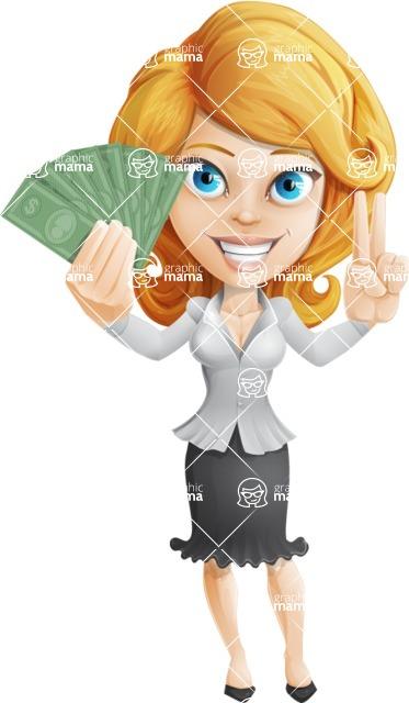 Linda Multitasking - Show me the money