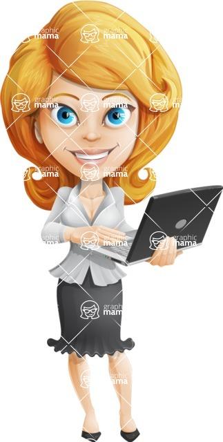 Linda Multitasking - Laptop 1