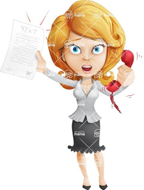 Linda Multitasking - Office Fever