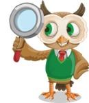 Owl Teacher Cartoon Vector Character AKA Professor CleverHoot - Search