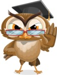 vector owl character illustration ultimate pack - Stop 2