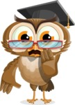 vector owl character illustration ultimate pack - Oops