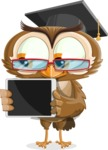 vector owl character illustration ultimate pack - iPad 2