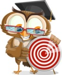 vector owl character illustration ultimate pack - Target