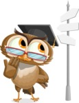 vector owl character illustration ultimate pack - Crossroad