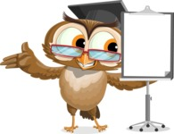 vector owl character illustration ultimate pack - Presentation 1