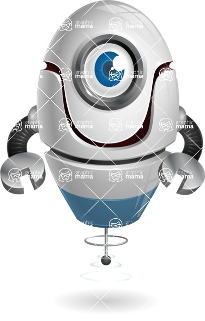 cyclop vector character by GraphicMama - Normal