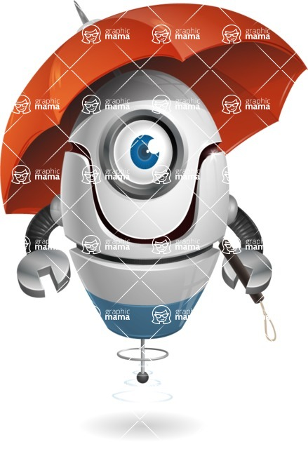 cyclop vector character by GraphicMama - Umbrella