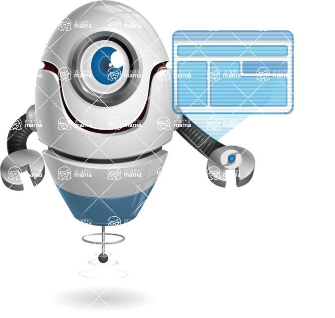 cyclop vector character by GraphicMama - Multimedia