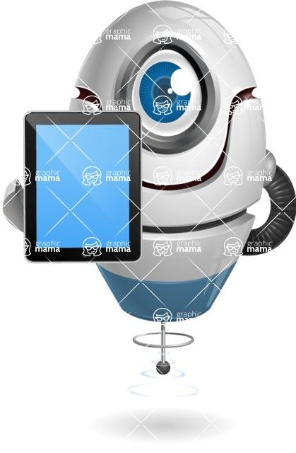 cyclop vector character by GraphicMama - iPad 1