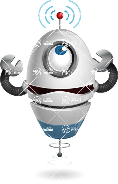 cyclop vector character by GraphicMama - Wi-Fi