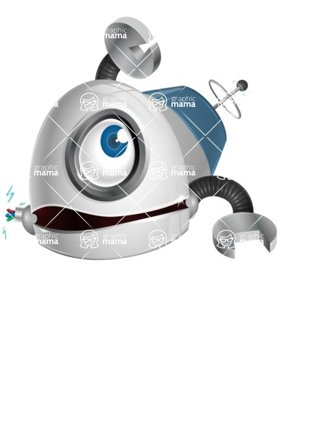 cyclop vector character by GraphicMama - Under Construction